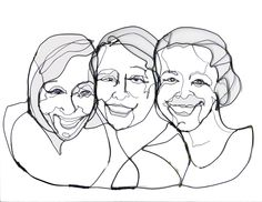 ©Karen Jobe Templeton. Cora,Hannah & Beth. Three of my favorite people.