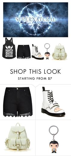 """Untitled #36"" by ahmedfazira ❤ liked on Polyvore featuring City Chic and Dr. Martens"
