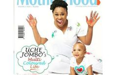 Uche Jombo-Rodriguez and her son look so adorable as they cover Motherhood in-Style magazine (See Photos)
