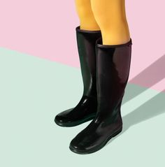 Baffin PACKables rain boots, $75 Rubber Rain Boots, Riding Boots, Clothing, How To Wear, Shoes, Fashion, Horse Riding Boots, Outfits, Moda