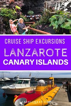 Lanzarote is a fabulous place for a cruise ship excursion. Jameos Del Agua Caves is worth doing as a Lanzarote excursion. Cruise Tips, Cruise Travel, Cruise Vacation, Cruise Excursions, Cruise Destinations, Travel Europe Cheap, Spain Travel, Canary Islands, Beach Trip