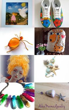Sunny Etsy Gifts by Marina Belovalova on Etsy--Pinned with TreasuryPin.com