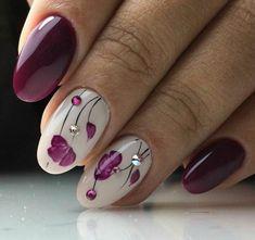 20 Blumen Nail Art Designs - Nageldesign & Nailart - New Ideas Spring Nail Art, Spring Nails, Summer Nails, Autumn Nails, Beautiful Nail Art, Gorgeous Nails, Trendy Nails, Cute Nails, Hair And Nails