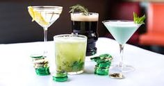 St. Patricks Day cocktails
