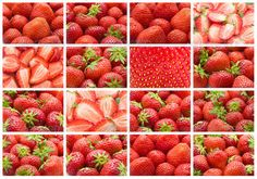 Strawberry ...  background, berry, collection, delicious, dessert, diet, food, fresh, freshness, fruit, green, health, healthy, juicy, natural, organic, red, refreshment, ripe, set, snack, strawberry, summer, sweet, tasty, vegetarian, vitamin