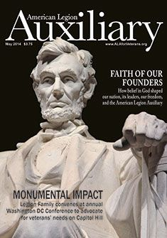 Auxiliary magazine, Vol. II, May 2014 American Legion Auxiliary, American Legions, Extraordinary People, Magazine Covers, Faith, Statue, Loyalty, Sculpture, Believe