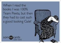Hunger Games fan problems.