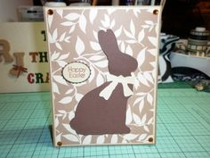 Easter Card  Using: Tim Holtz Easter Element's