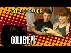 Felicia Day, Ryon Day and A License to Kill: Co-Optitude Episode 7 - Goldeneye - YouTube