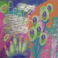 Buy Prints of Quote #1 Peace, a Digital on Paper or canvas by Jamie Kalvestran from . It portrays: Floral, relevant to: peace, pink, teal, bright, floral, green, orange This is a series based on quotes selected randomly from the Dictionary of Quotations. The work is created intuitively without any preconceived idea of how it will turn out. I allow the imagery to create itself with out any judgement.