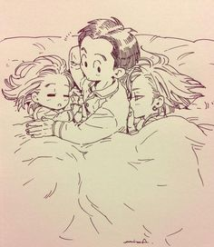 This is just adorable Android 18 And Krillin, Krillin And 18, Dragon Ball Z, Akira, Sailor Chibi Moon, Dragon Images, Card Captor, Cute Dragons, Z Arts