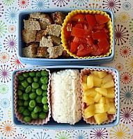 Bento Box Gallery - Sortable by age (adult, preschool, toddler) and contents    got a 2 tier plastic bento box as a gift...