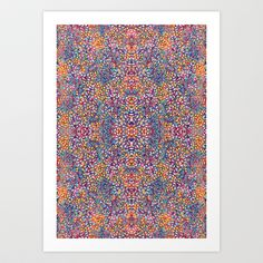 Dancing Leaves Art Print by Geetika Gulia - $16.00