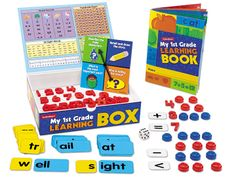 My First Grade Learning Box $19.99