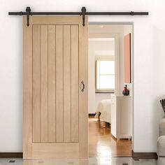 Thruslide Traditional Suffolk Oak Sliding Door