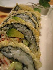Deep Fried Vegan Sushi
