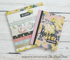 The Heart Desires: Floral Birthday Card