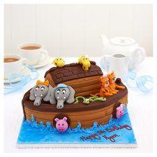 Easy Entertaining Noah'S Ark Cake - Groceries - Tesco Groceries