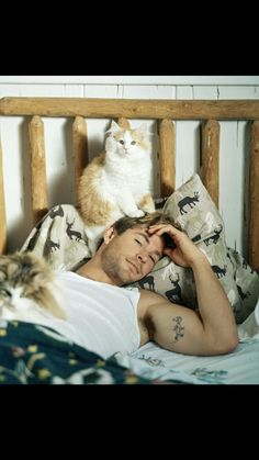 Chris Hemsworth Is So Swoon-Worthy in New 'Vanity Fair' Shoot!: Photo Chris Hemsworth is featured on this month's issue of Vanity Fair magazine and the photos from his gorgeous feature were just released! Chris Hemsworth Thor, Chris Hemsworth Tattoo, Crazy Cat Lady, Crazy Cats, I Love Cats, Cool Cats, Hate Cats, Celebrities With Cats, Celebs