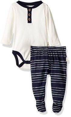 20d681ad4 AmazonSmile: Burt's Bees Baby - Unisex Baby Bodysuit & Pant Set, 100%  Organic Cotton: Clothing