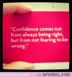 True confidence #quotes