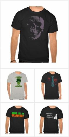 Halloween T-shirts and Costumes