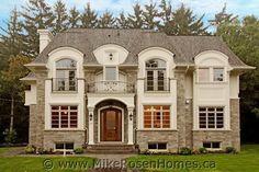 Custom Home traditional-exterior