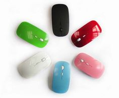 optical wireless mouse 2.4g receiver super slim mouse