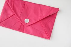 envelope clutch pattern - see kate sew