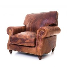 Muhkean massiivinen nahkatuoli. Tilaa tästä: http://www.verkkokauppa.aadesign.fi/tuotteet/brady-leather-sofa.