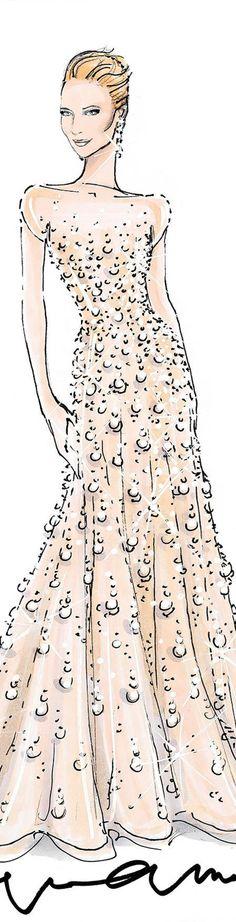 fashionillustr.quenalbertini: Fashion Sketch