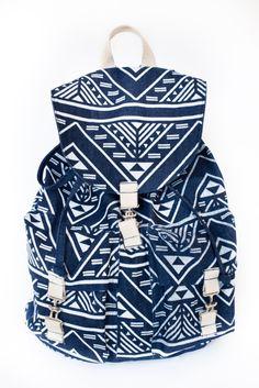 Fun tribal print bag