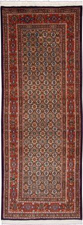 "Moud Mahi Salmon Allover Carpet CS-M981879195 X 76 Cm. (6'5"" X 2'5"" Ft.) - Carpetsanta"