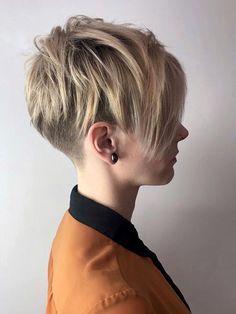 Short Hair Hacks, Short Hair Cuts, Short Hair Styles, Pixie Hairstyles, Pixie Haircut, Pretty Hairstyles, Hair Inspo, Hair Inspiration, Butch Haircuts