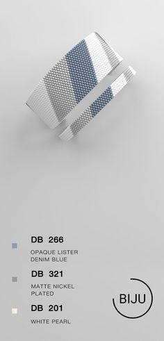 2,36 $ Peyote bracelet pattern, peyote pattern, odd count, stitch pattern, pdf file, pdf pattern, #04BIJU