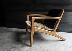 Del Rey product page Sofa Design, Chair Design Wooden, Lounge Chair Design, Lounge Chairs, Modern Furniture, Furniture Design, Modern Wood Chair, Wooden Chair Plans, Wood Arm Chair