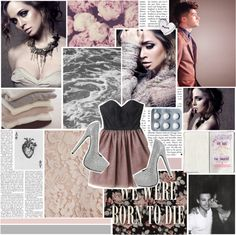 """""""we were born to die"""" by iamametamorphmagus ❤ liked on Polyvore"""
