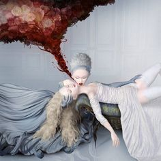 """New work by Ray Caesar The Curative, 2016 30 x 30"""" Edition of 20 Digital #art…"""
