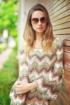 Captivating Crochet a Bodycon Dress Top Ideas. Dazzling Crochet a Bodycon Dress Top Ideas. Zig Zag Crochet, Moda Crochet, Knit Crochet, Crochet Hats, Crochet Dress Outfits, Crochet Cardigan, Crochet Clothes, Crochet Sweaters, Vestido Zig Zag