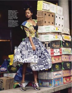 Sharleen Dziire for Elle South Africa January 2013 03
