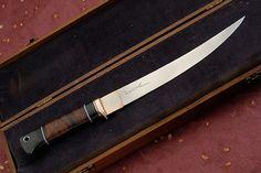 custom fillet knife - Bing Images Fillet Knife, Knives And Tools, Custom Knives, Walking Sticks, Cutlery, Bing Images, Blade, Hobbies, Kit