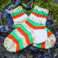"""Вязаные теплые носки ручной работы """"Ирландия"""""""