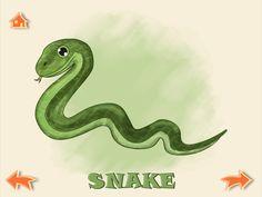 Lost letter - S like snake:)