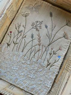 gentlework: Stitching a meadow...