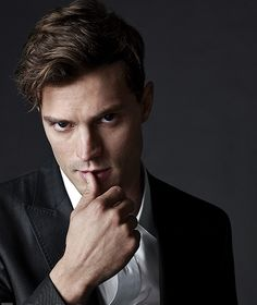 """Oh please dont look at me like that Jamie!"" That man has a direct line to whatever creates butterflies in my stomach. New Christian Grey, yeah, i can fantasize about that :)"