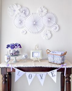 Une lovely baby shower