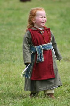 Viking girl(though looks a little more Celt with the red hair, lol )