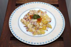 Experimente aus meiner Küche: Blumenkohl-Kartoffel-Gratin