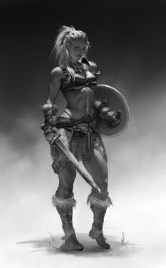 Viking Women Viking women led a life that women of their time in other regions might envy. The stories of the Viking women's life was full of inspiration of empowering the women. Check it out now the Viking Women life on this writing. Fantasy Warrior, Fantasy Girl, Fantasy Women, Dark Fantasy, Fantasy Fighter, Vikings, Fantasy Artwork, Fantasy Character Design, Character Art