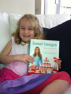 Maddie from Sydney has joined the #SweetDesigns Virtual Book Club! How cute is she?!